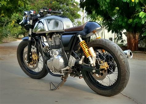 Royal Enfield Continental Gt 650 Modification by Royal Enfield Continental Gt Redefined 350cc
