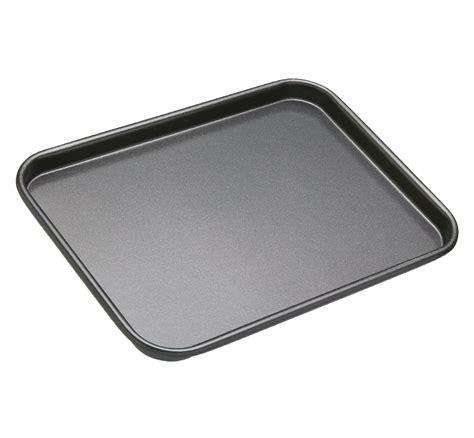 kitchen knives amazon kitchencraft masterclass non stick baking tray grey 24 x