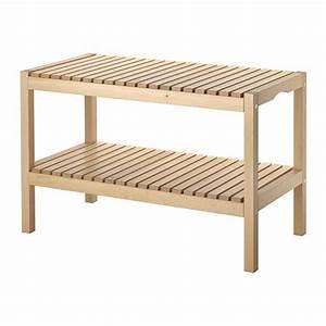 Banc En Bois Ikea : molger banc ikea ~ Premium-room.com Idées de Décoration