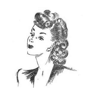 1940s S Hairstyles How To Create by Vintage Hairstyles Fashion