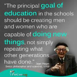 Image result for jean piaget quotes