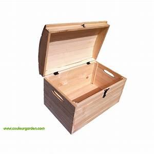 Coffre à Jouer : coffre jouets en bois couleur garden ~ Medecine-chirurgie-esthetiques.com Avis de Voitures