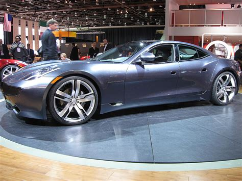 Fisker Karma Hybrid Sports Car