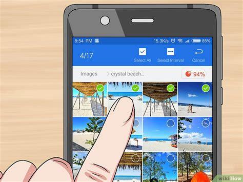 bilder von android auf eine sd karte verschieben wikihow