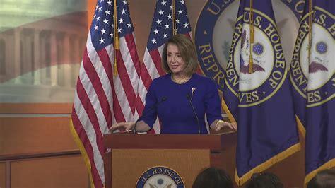 Fox News - House Speaker Nancy Pelosi holds a news conference.