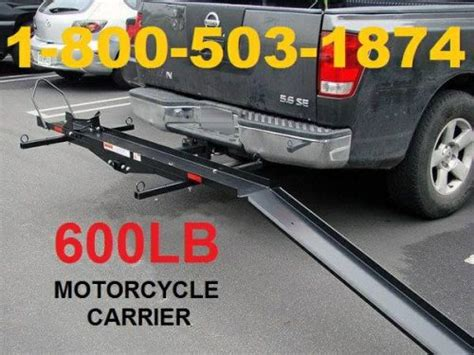 600lb Capacity Tow Rack Carrier For All Types Of