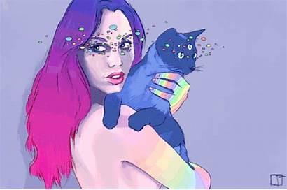Eye Third Gifs Giphy Phazed Rainbow Psychedelic