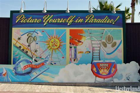 Cartoon Billboard yesterland original billboards  paradise pier 766 x 510 · jpeg