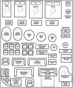 Furniture Templates For Room Planning