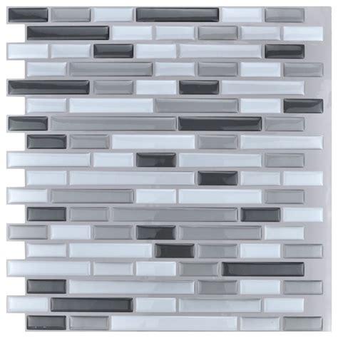 peel and stick kitchen backsplash wall tiles 12 quot x12 quot 10