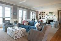 coastal living rooms Living Room. Bring Summer Into The Living Room With ...