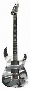 ESP JEFF Hanneman Signature Guitar Urban Camo Maple Neck ...