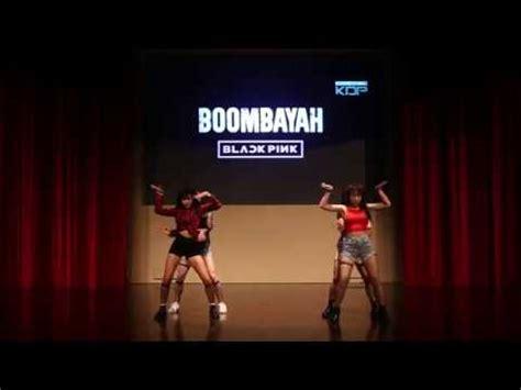 blackpink bbhmm boombayah dance cover ntukdp