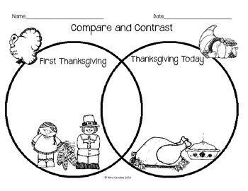 compare  contrast thanksgiving  nina  geek