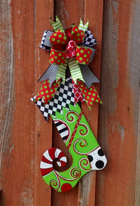 christmas stocking door hanger christmas decoration christmas