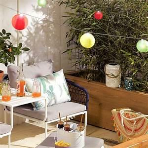 Lampions Mit Led : solar lichterkette mit 10 bunten led lampions ~ Watch28wear.com Haus und Dekorationen