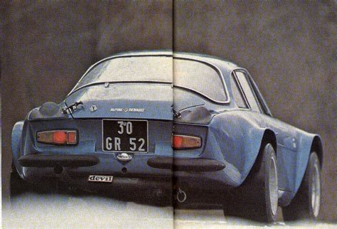 zerbini auto alpine a110 ex usine page 95 histoires du sport