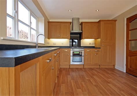 wood floors in kitchens what are the benefits of melamine kitchen cabinets ehow 1580