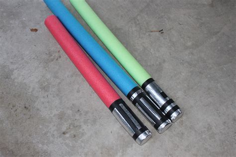 make a pool noodle lightsaber pool noodle crafts boy