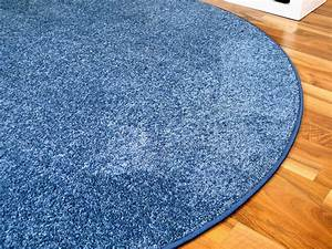 Teppich Hochflor Blau : hochflor velours teppich triumph blau rund in 7 gr en teppiche hochflor langflor teppiche gr n ~ Indierocktalk.com Haus und Dekorationen