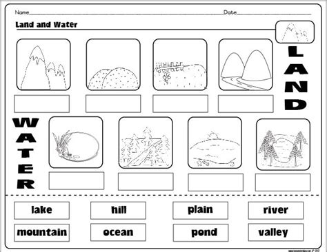 15 best images of social studies landform worksheets 3rd