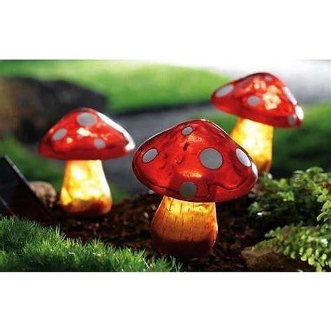 solar mushroom garden lights solar powered garden mushrooms my mad tea party pinterest