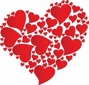 Heart of hearts wall stickers
