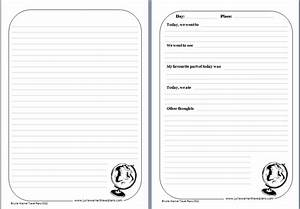 children39s travel games activities With trip diary template