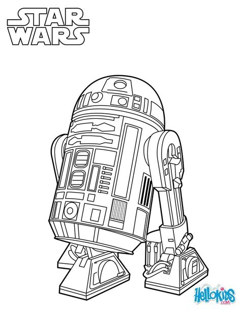 star wars bb robot coloring coloring pages