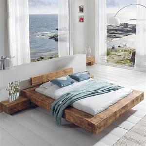 Lit Mezzanine Cocktail Scandinave : lits 2 places en poutre chambre lit ~ Melissatoandfro.com Idées de Décoration