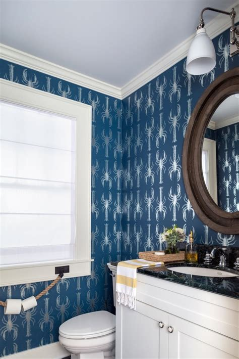 dramatic wallpaper  small spaces roasted