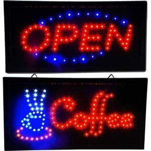 Neon Display Sign Board Animated RGB COFFEE Electronic