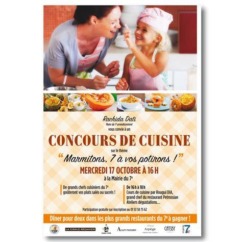 concours de cuisine contenus g a print