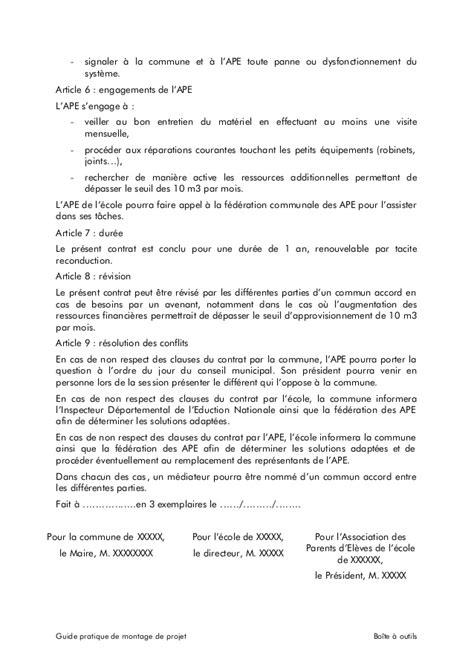 modèle lettre de partenariat commercial exemple contrat de partenariat