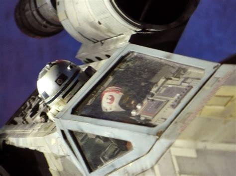 wing cockpit detail   wing fighter model displayed