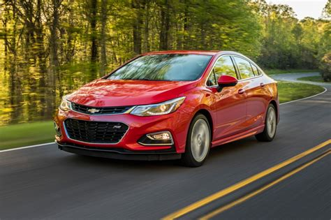 2018 Chevrolet Cruze Sedan Pricing & Features Edmunds