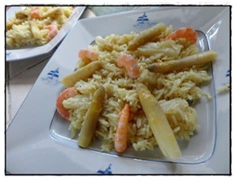 cuisiner asperges fraiches risotto aux asperges fraîches et crevettes recette iterroir