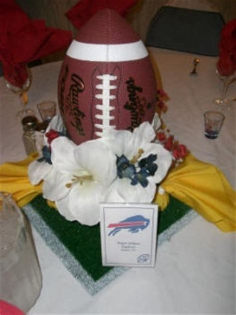 sports centerpieces for tables football wedding table centerpiece sports inspiration