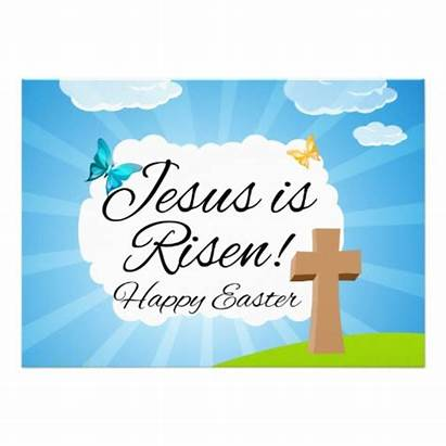 Easter Christian Clip Religious Jesus Risen Cards