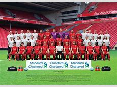 Download the brand new LFC squad photo Liverpool FC