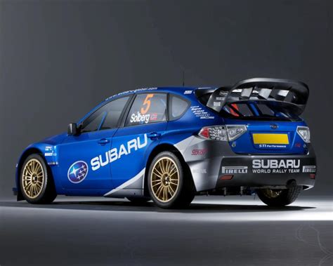 Rear Wing Manufacturer Of Solberg's Wrc Car???