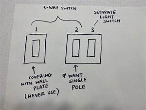 Converting 3-way Switch To Single Pole - Electrical