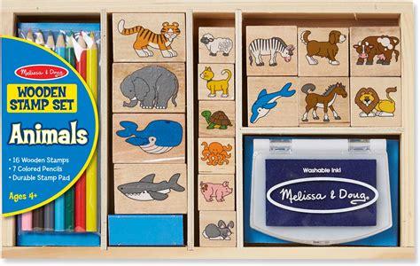 animal stamp set  toyworks