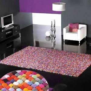 tapis design balls par carving With tapis design avec canapé boule