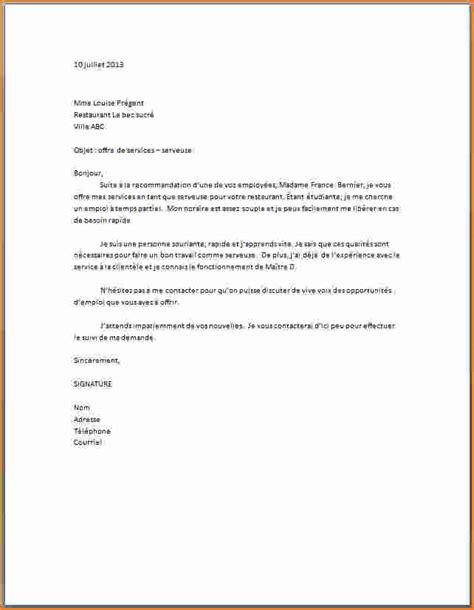 lettre de motivation responsable de salle restauration 10 exemple lettre de motivation restauration exemple lettres