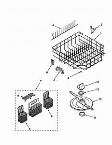Kenmore Model 66515752000 Dishwasher Genuine Parts