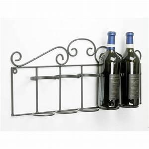 Wall Mounted Wine Racks & Holders | Black Country Metal Works