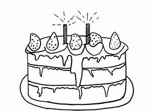 Dessin Gateau D Anniversaire : coloriage g teau anniversaire dessin imprimer sur ~ Louise-bijoux.com Idées de Décoration