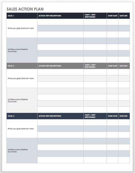 Sales Plan Template Free Sales Pipeline Templates Smartsheet