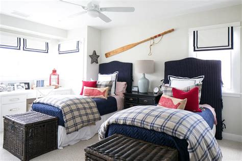 bedroom navy blue and nautical bedrooms design ideas Coastal
